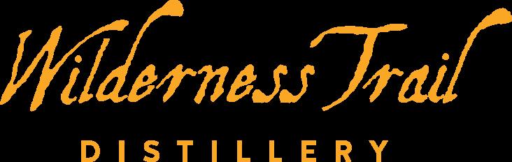 Wilderness Trail Distillery word mark in gold