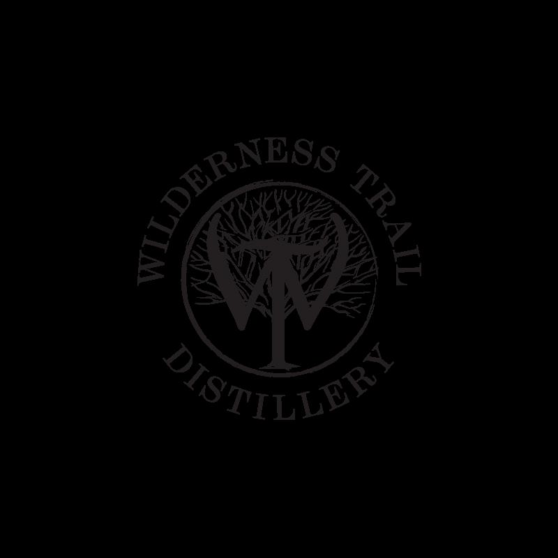 Wilderness Trail Distillery logo in black on white background